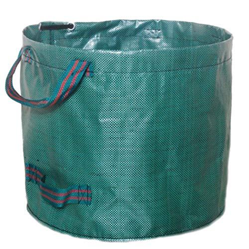 Fansport Garten Taschen Zusammenklappbarer Wiederverwendbarer Wasserdichter Rasen Beutel (Wiederverwendbare Rasen-taschen)