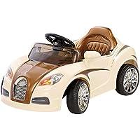 Playtastic Elektroauto: Edles Elektro-Kinderfahrzeug mit Fernsteuerung (Kinder Elektroauto)