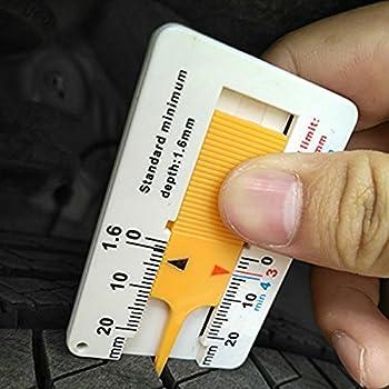 Buydirect Reifen Profiltiefenmesser Auto Motorrad Trailer Rad Measure Tool 0–20 Mm 2 Stück … 2