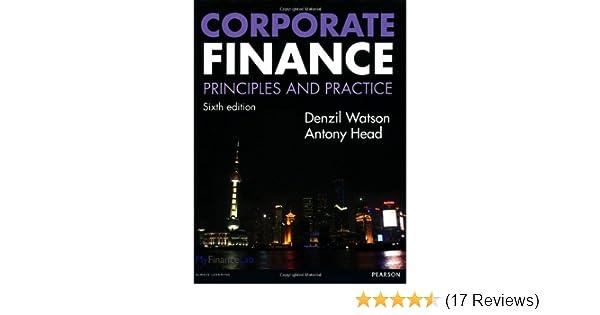 Corporate finance principles and practice amazon denzil corporate finance principles and practice amazon denzil watson antony head 8601405552365 books fandeluxe Images