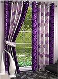 Sajaawat 2 Piece Polyester Door Curtain ...