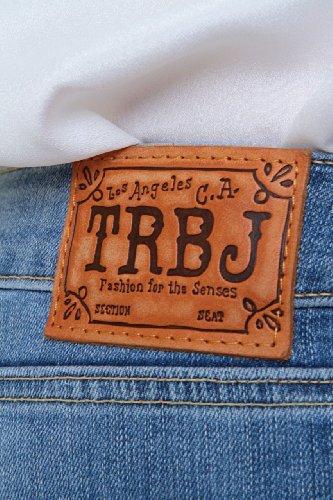 True Religion Jean Bootcut BOBBY LONESTAR Bleu clair