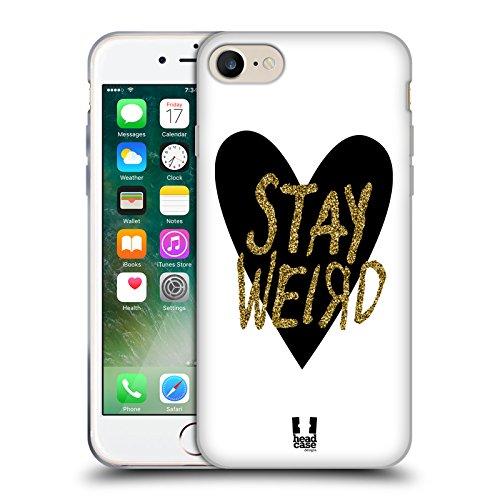 Head Case Designs Renard Noir Tangram Motifs Animaliers Étui Coque en Gel molle pour Apple iPhone 6 Plus / 6s Plus Imprimé Scintillent