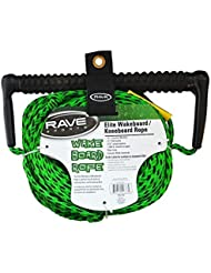 RAVE 3-Section Wakeboard/Kneeboard Rope(70-feet) by Rave