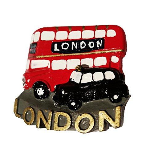 te Master Bus und London Cab/Taxi/Black Cab/Hackney Kutsche Collectible Polyresin UK MAGNET Souvenir. Souvenir/Speicher/MEMORIA. spezielle, Einzigartige British UK Collectible Magnet. Hier ist eine unvergessliche London Souvenir. Aimant/Magnet/Magnete/ImÁn. S01 (Niedlich Jahrestag Ideen)