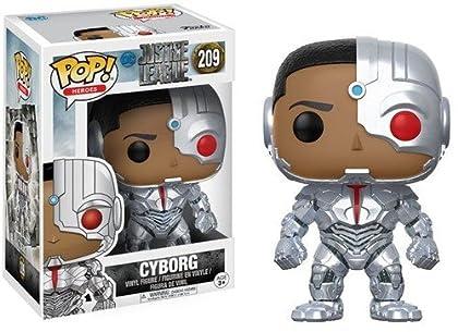 DC Figura de Vinilo Cyborg, colección Justice L...