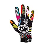 Optimum Velocity Full Finger Boy's Glove, Multicolored (Street II) - Small Boys (5-6 Inch)