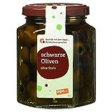 Tegut Schwarze Oliven ohne Stein, 110 g