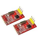 Baoblaze 2X AD7705 Dual-16-Bit-ADC-Datenerfassungsmodul Eingangsverstärkung Programmierbare SPI-Schnittstelle TM7705