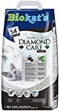 Biokats الماس العناية فضلات القطط ، القمامة ذات جودة عالية للقطط مع الفحم المنشط والصبار ، 1 X كيس ورقي 10 L