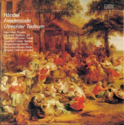 """Händel: Ode for the Birthday of Queen Anne / Te Deum, """"Utrecht"""" (Sung in German)"""