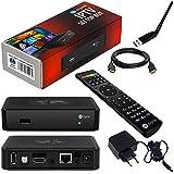 MAG 254 Original HB-DIGITAL IPTV SET TOP BOX Multimedia Player Internet TV IP Receiver + adaptador WLAN con antena WiFi Stick + HB Digital HDMI cable