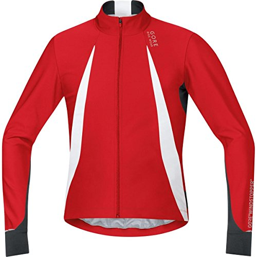 GORE BIKE WEAR OXYGEN WINDSTOPPER   MAILLOT PARA HOMBRE  COLOR ROJO / NEGRO  TALLA XXL