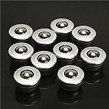 EsportsMJJ 10Pcs 8mm Diametro Sfera Metallo Cuscinetto Trasportatore Rullo Cy-8H Cuscinetto A Sfere
