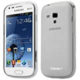 Casotec Soft TPU Back Case Cover for Samsung Galaxy S Duos S7562 - Clear