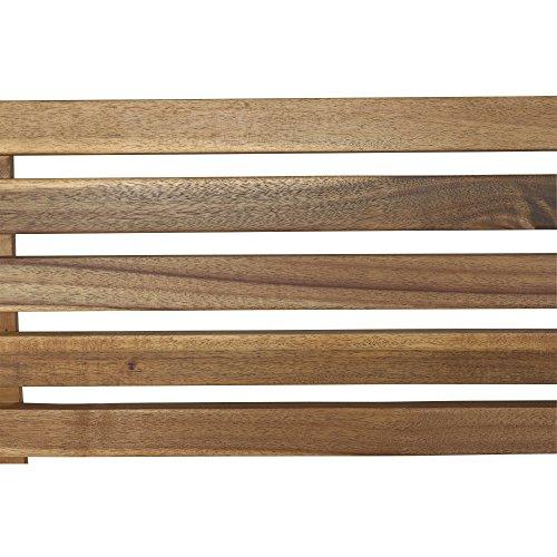 Siena Garden 2er Bank Santana, 67,5x140x92,5cm, Akazienholz, geölt in natur, FSC 100% - 8