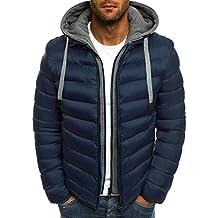 OZONEE Herren Winterjacke Parka Jacke Kapuzenjacke Wärmejacke Wintermantel Coat AK-CLUB YL005