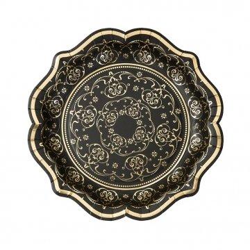 Talking Tables PPBQ-Cup Party Porcelain Baroque Gobelet en Carton 12PQT Papier, Multicolore, 8 x 0,02 x 8 cm