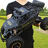 IBalody De Gran tamaño 1:12 Off-Road Control Remote Car 4WD 4x4 Big Foot Rock Crawlers RC Vehículo 9km / h Alta Velocidad de Carga Modelo de Control Remoto Good Birthday Gifts for Kids 3+