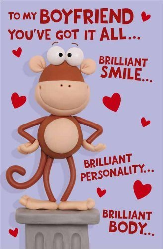 Valentines Day Card Boyfriend Amazoncouk