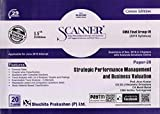 Solved Scanner CMA Final Group-IV (Syllabus - 2016) Paper-20 Strategic Performance Management and Business Valuation