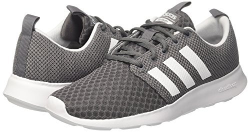 adidas Herren Cloudfoam Swift Racer Laufschuhe, Grau (Grey Four/Core Black/Footwear White 0), 46 EU - 5