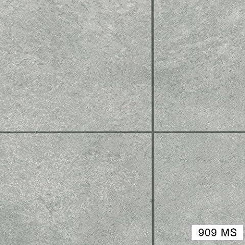 909MS-Stone Effect Anti Slip Vinyl Flooring Home Office Kitchen Bedroom Bathroom High Quality Lino Modern Design 2M 3M 4M wide