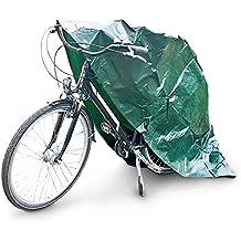 Relaxdays 10013600 - Cubierta protectora de polietileno para bicicletas, UV resistente, 220 x 120 cm, color verde