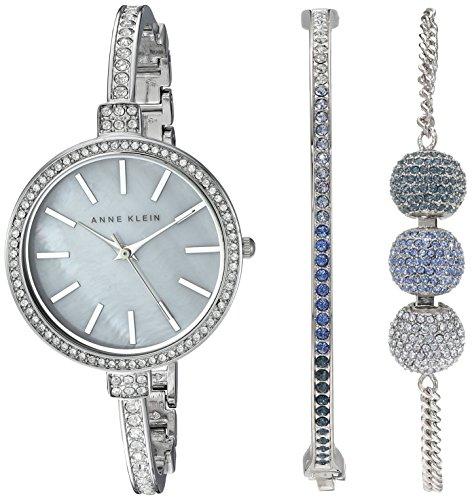 anne-klein-para-mujer-ak-2353blst-multicolor-swarovski-cristal-acentos-en-silver-tone-pulsera-reloj-