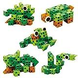 Click-A-Brick Rainforest Rascals, Blocchi da Costruzione per Bambini, età 4, 5, 6 Anni, 30 Pezzi, Gioco educativo e Divertente per Bambini dai 4 ai 12 Anni