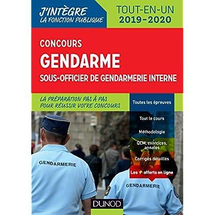 Concours gendarme sous-officier de gendarmerie interne - Tout-en-un - Concours 2019/2020