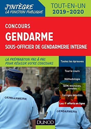 Concours gendarme sous-officier de gendarmerie interne - Tout-en-un - Concours 2019/2020 par Jean Marc Groga