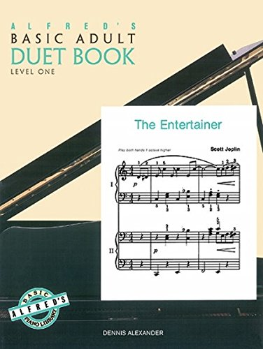 Alfred's Basic Adult Piano Course Duet Book, Bk 1