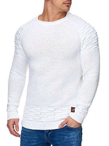 Tazzio - Pull - Homme Weiß