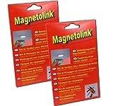 GEV Magnetolink für Rauchmelder - 2er Pack