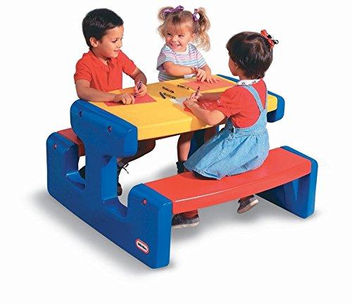 Little Tikes 466800060 - Grande tavolo da pic nic, colore: Multicolore