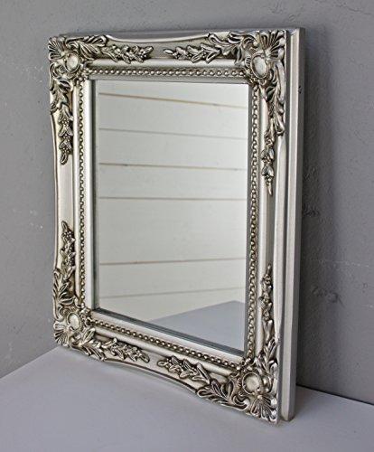 elbm bel 32x27x3cm rechteckiger wand spiegel handgefertigter vintage antik rahmen aus holz. Black Bedroom Furniture Sets. Home Design Ideas