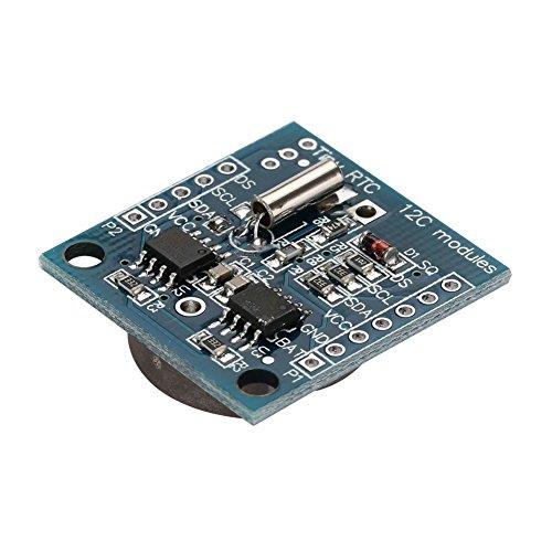 Ar Tiny Rtc I2C Bord Modul, Dc5V Ar I2C Tiny Präzision Rtc Echtzeit Borduhr Modul Für Arduino