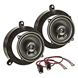 tomzz Audio ® 4034-002 Lautsprecher Einbau-Set für Mercedes C-Klasse W203 S203 130mm hintere Tür