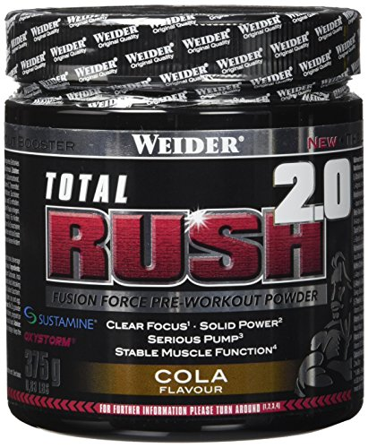 Weider Total Rush 2.0, Cola, 1er Pack (1 x 375 g)