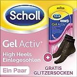 Scholl GelActiv Einlegesohle High Heels Geschenkpack mit Gratis Glitzersocken