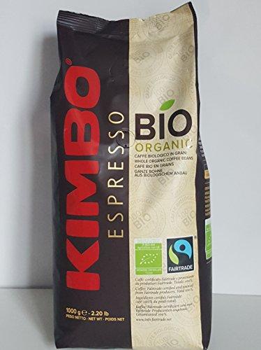 Kimbo Bio Organic Coffee Beans 1kg 51xXaxaENUL