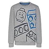 LEGO Wear Jungen Lego Boy M-72670-Sweatshirt, Grau (Grey Melange 921), 128