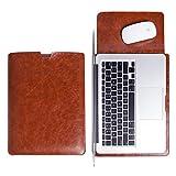 WALNEW Schlanke MacBook Air 13 Zoll (A1369/A1466) Hülle, MacBook Schutzhülle, Hülle, Case, Cover, MacBook Pro Retina 13 Zoll Hülle mit Handgriff, geschütztes Inneres und externes Mousepad