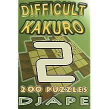Difficult Kakuro: 200 puzzles