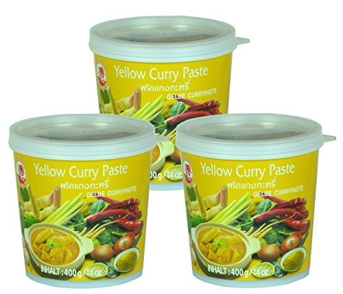 Cock - Gelbe Currypaste - 3er-Pack (3 x 400g)