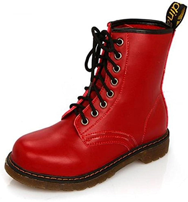 Neutro Stivali. pelle Testa rossoonda slittata indossare preciso rinforzo impermeabile, Assorbimento degli urti,... | Prima qualità  | Scolaro/Ragazze Scarpa