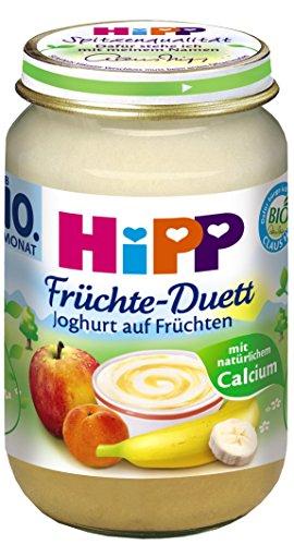 Preisvergleich Produktbild Hipp Joghurt auf Früchten,  6-er Pack (6 x 160 g) - Bio