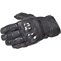ScorpionExo SGS MKII Men's Short Cuff Sport Gloves (Black, Large) by Scorpion