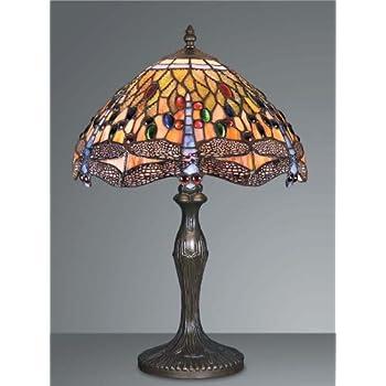 Dragonfly tiffany table lamp hs203012 amazon lighting dragonfly tiffany table lamp hs203012 aloadofball Images